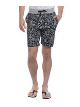 Rose Taylor Men Casual Cotton Short (A1-4028), black, xxl