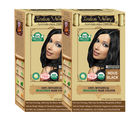 Indus valley 100% Botanical Organic Indus Black hair color One Touch Pack (Pack of 2)
