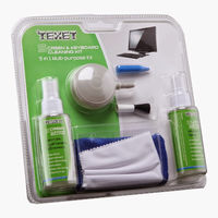 Texet CCK 545 5 in 1 Multi Purpose Cleaning Kit for Computers| Laptops| Mobiles| LCD| LED| TV Screens   Keyboard