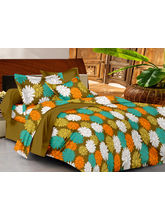 Casa Basics Double Bedsheet With 2 Pillow Cover