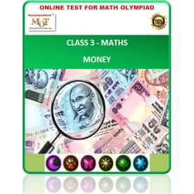 Class 3, Money, Online test for Maths Olympiad