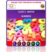 Class 3, Numbers, Online test for Maths Olympiad