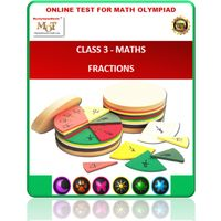 Class 3, Fractions, Online test for Maths Olympiad