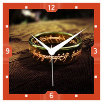 Lord Of The Rings Wall Clock (11 X 11 Inches) By Shopkeeda