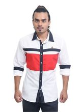 PP Shirts Casual Wear shirt (PPCL119), l, white