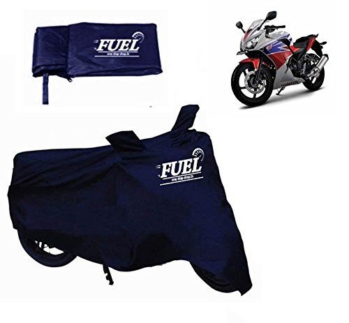 FUEL -Motorcycle Cover for Hero MotoCorp HF Deluxe / ECO /Dawn, blue