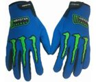 FUEL Monster Motorcycle/Bike Riding Gloves-Blue, blue, xl