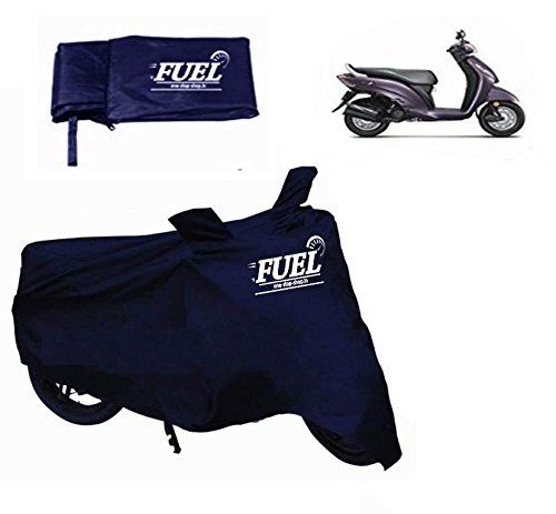 FUEL -Scooty Blue Cover for TVS Scooty Pep+, blue