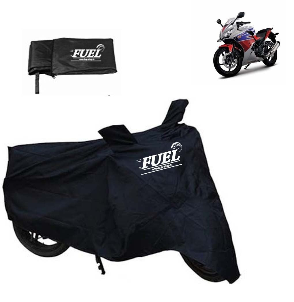FUEL -Motorcycle Black Cover for Yamaha CRUX, black