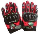 FUEL Monster with Knuckle Motorcycle/Bike Riding Gloves-Red, red, xxl