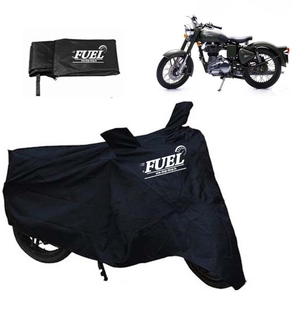 FUEL -Motorcycle Black Cover for Royal Enfield Thunderbird 500, black