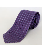 BLACKSMITHH TIES - LAVENDER AND SKY BLUE CROSSHAIR