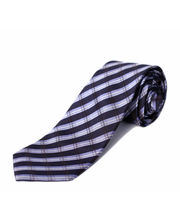 BLACKSMITHH TIES - SKY BLUE AND NAVY CHECKS