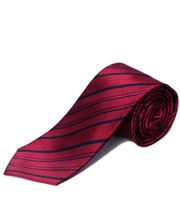 BLACKSMITHH TIES - RANI AND NAVY ALL OVER STRIPES