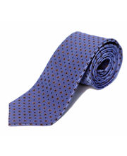 BLACKSMITHH TIES - SKY BLUE AND GOLD CROSSHAIR
