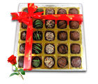 Best Gift Box For Any Occassion With Red Rose - Chocholik Belgium Chocolates