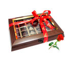 Creation Delightful Chocolates Chocolate Box With Red Rose - Chocholik Belgium Chocolates