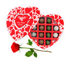 Best Treat For All Chocolates With Red Rose - Chocholik Belgium Chocolates