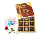 Chocholik Gifts For Her Or Him Sweet Emotions With All Gifts Combo For Girlfriend Chocholik Belgium Chocolates (CH3065_ RC)