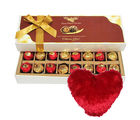 Someone Special Chocolates With Heart Pillow - Chocholik Belgium Chocolates