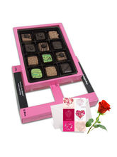 Blooming Creation Of Pralines Chocolates For Love ...