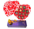 The Best And Delightful Gift For Love One With Golden Rose - Chocholik Belgium Chocolates
