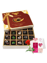 Adorable Treat Of Dark And Milk Chocolate Box With...