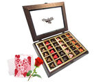 Secret Spark Of Love Chocolates With Love Card And Rose - Chocholik Belgium Chocolates