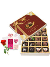 Love Delight Of Dark And Milk Chocolate Box With L...