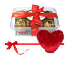 Magical Bloom Wrapped Truffles With Heart Pillow - Chocholik Luxury Chocolates