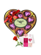Cheerful Chocolates Collection With Love Card And ...