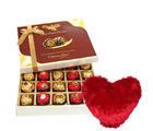 Expressive Surprise Of Chocolates With Heart Pillow - Chocholik Belgium Chocolates