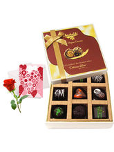 Wonderful Treat Of Love Chocolates With Love Card ...