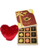 Tasteful Surprise Of Yummy Chocolates With Heart P...