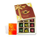 Chocolate For All Seasons With Love Card - Chocholik Belgium Chocolates
