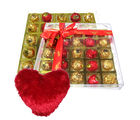 Big Choco Surprise With Heart Pillow - Chocholik Luxury Chocolates