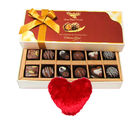Chocolaty Yummy Surprise With Heart Pillow - Chocholik Belgium Chocolates