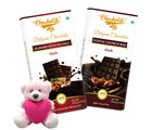 Chocholik Gifts For Her Or Him A Sweet Treasure Chocolate Bars Combo For Your Girlfriend With Teddy (CH4009_ TD)