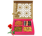 Favorite Love Gift Box With Red Rose - Chocholik Premium Gifts