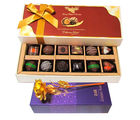 All In One Combination Of Chocolates Box With Golden Rose - Chocholik Belgium Chocolates