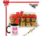 Chocholik Rakhi Gift Sweet Emotions With Baklava Chocholik Premium Gifts (CH3173_ BRO)