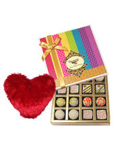 Marvelous Treat Of White Truffles Box With Heart P...