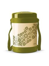 Milton Vector- 4 Containers Lunch Box - Green Color, green