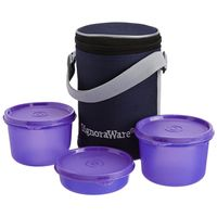 Signoraware Executive Lunch Box Small   510   Violet Color, violet