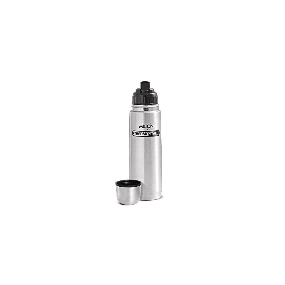 Milton Thermosteel Flip Lid 500 ml Flask steel @ Infibeam – Rs.430 – Kitchen and Home Appliances