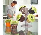 Ideal Home Spice Rack, green