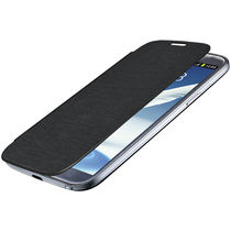 Amzer 95753 Flip Case   Black for Samsung Galaxy Note II GT N7100