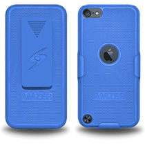Amzer 94885 Shellster   Blue for iPod Touch 5th Gen