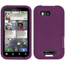 Amzer 89386 Silicone Skin Jelly Case   Purple for Motorola DEFY Plus, Motorola DEFY MB525