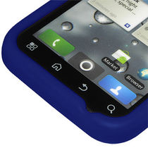 Amzer 89388 Silicone Skin Jelly Case   Blue for Motorola DEFY Plus, Motorola DEFY MB525